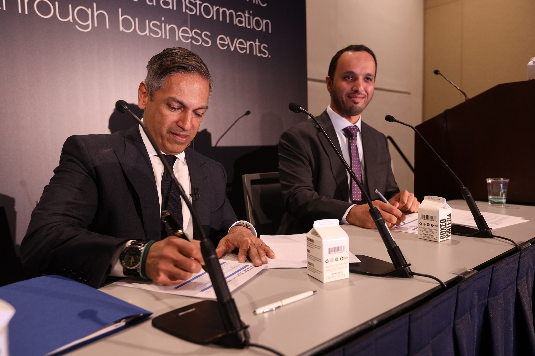 Abu Dhabi Convention & Exhibition Bureau signs strategic agreement with PCMA