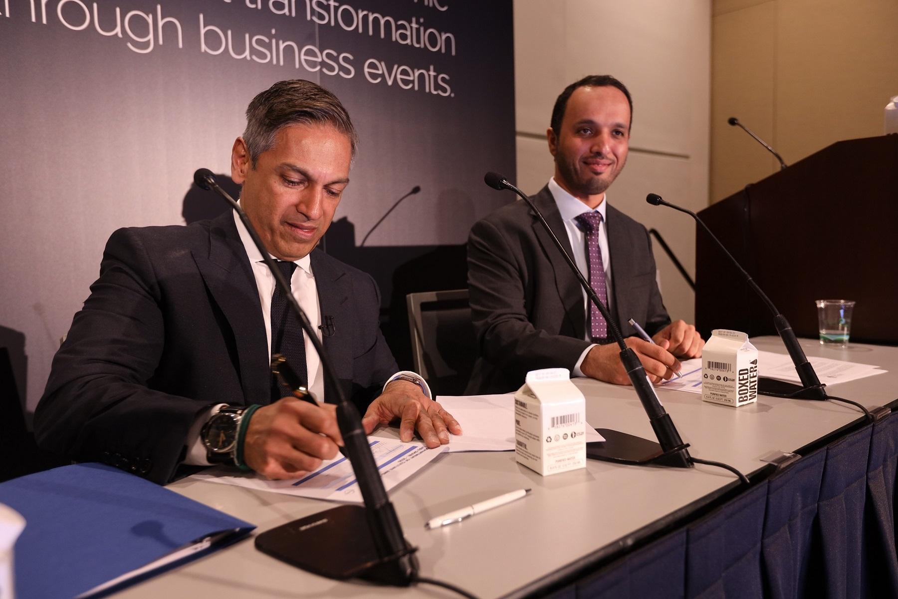 Abu Dhabi Convention & Exhibition Bureau signs strategic agreement with PCMA