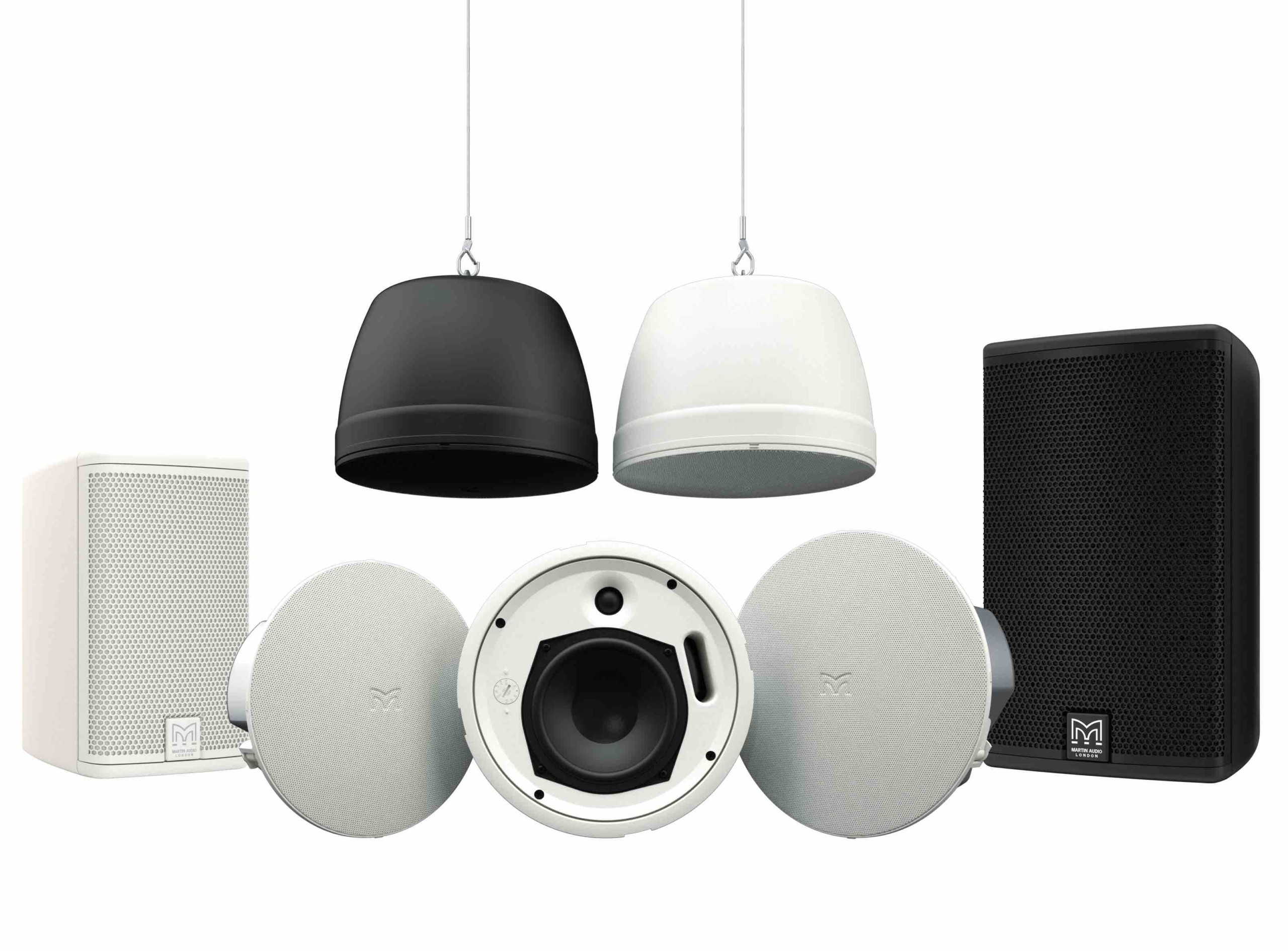 Martin Audio announce five new ceiling loudspeakers