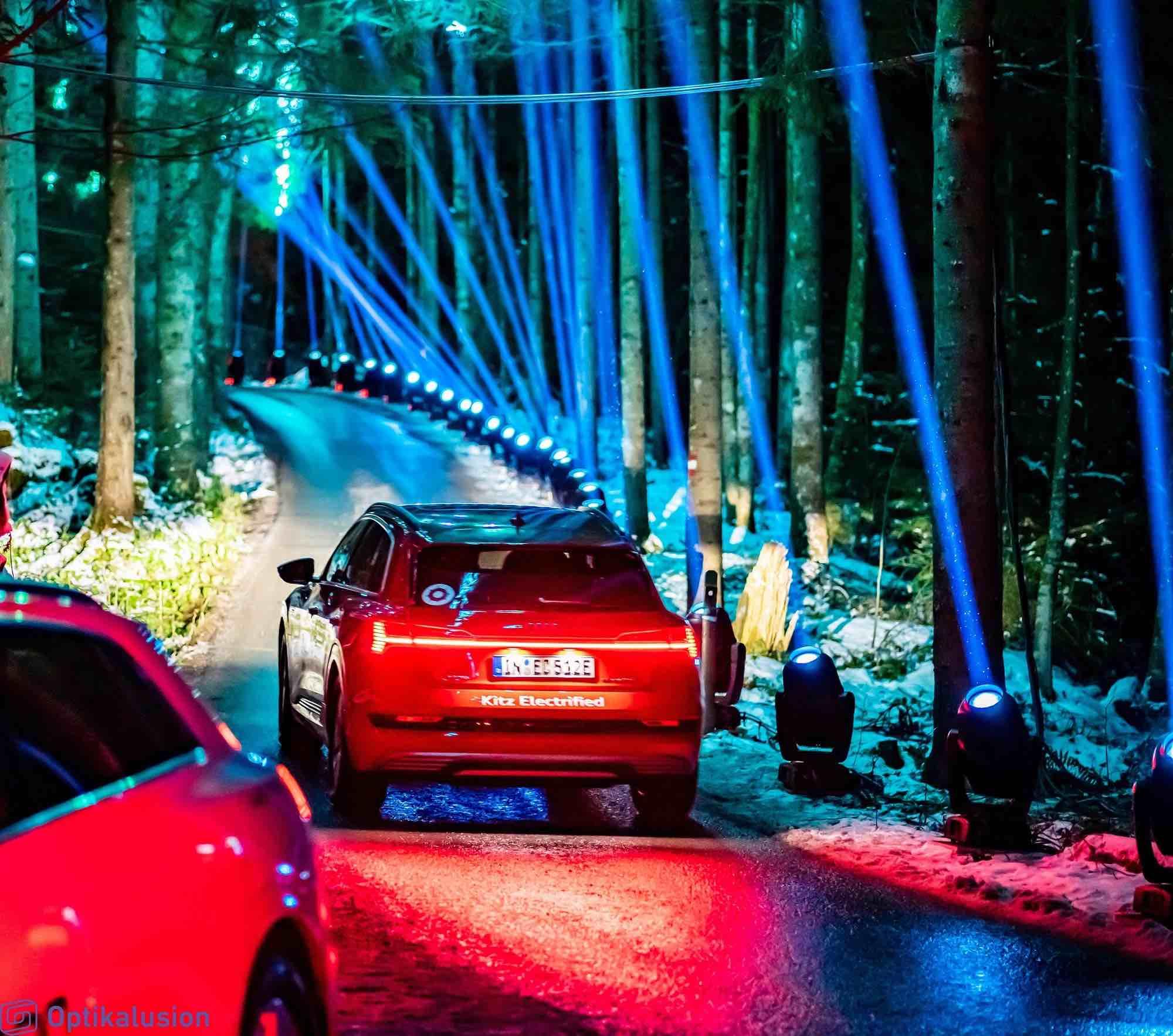 Proteus toughness at Audi e-tron Experience in Austria