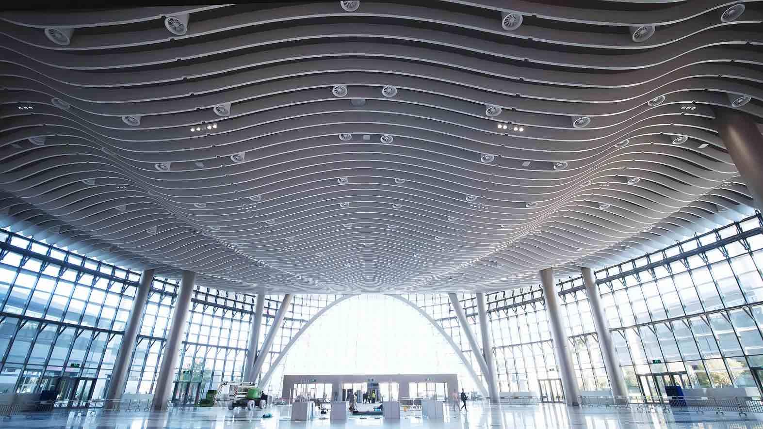 Osram supplies interior lighting for the Shenzhen World exhibition center