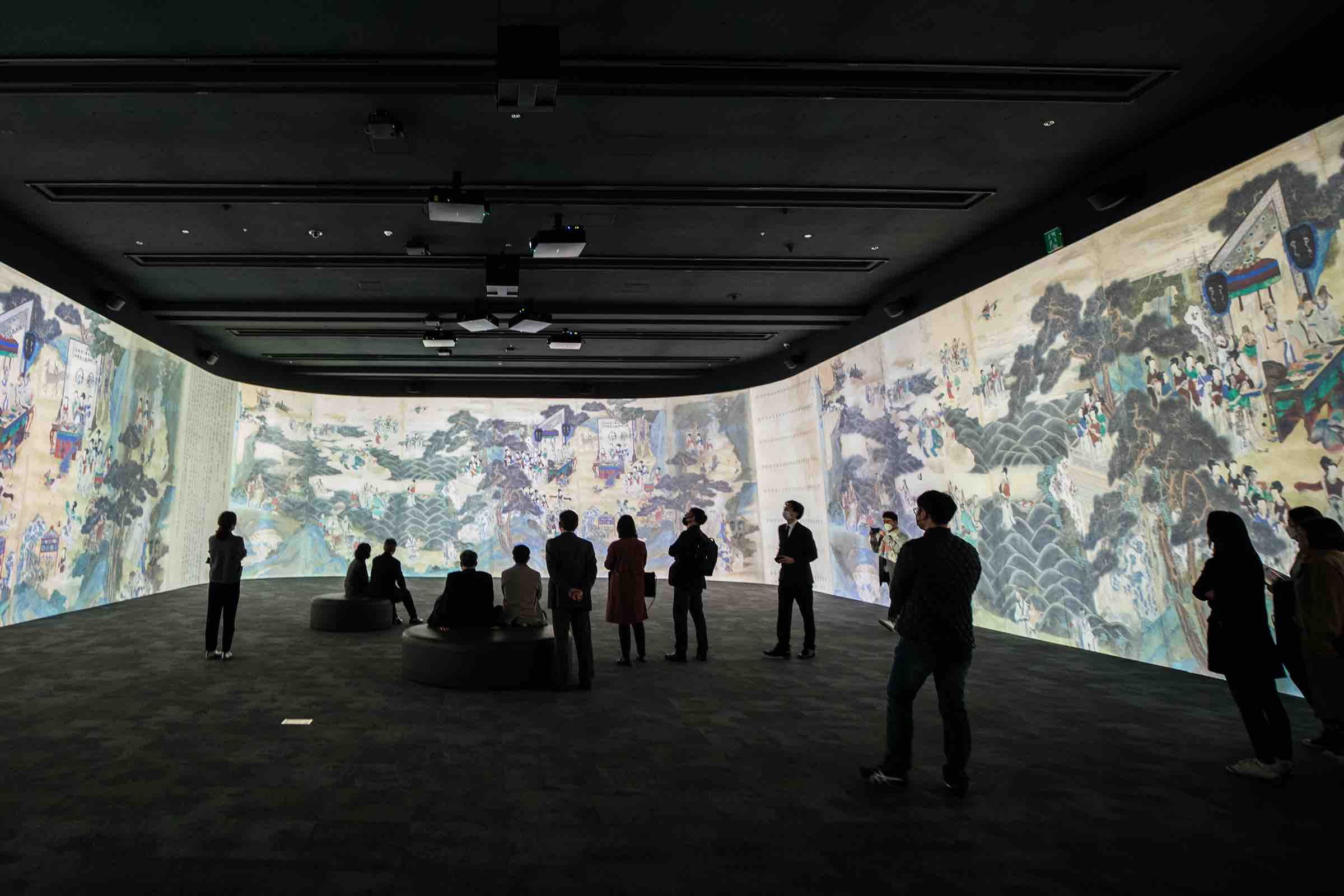 Immersive Digital Gallery opened at the National Museum of Korea