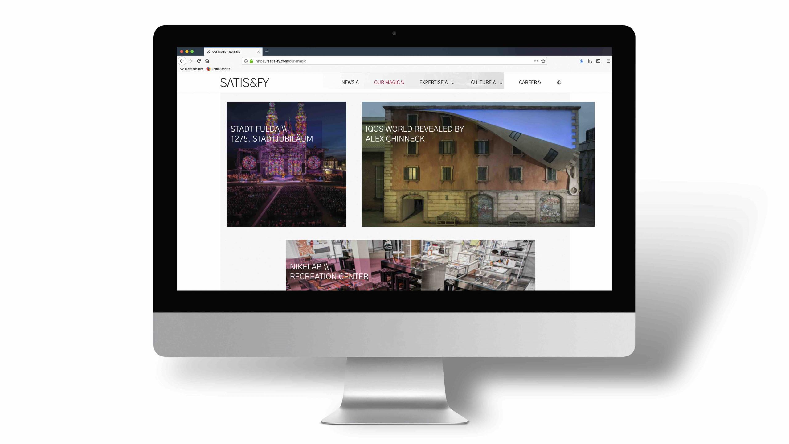 satis&fy launches new website