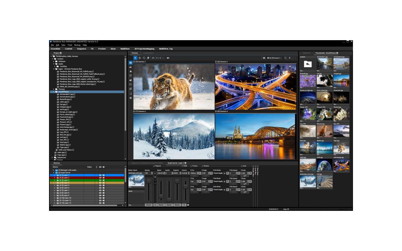 Christie releases Pandoras Box software version 6.5