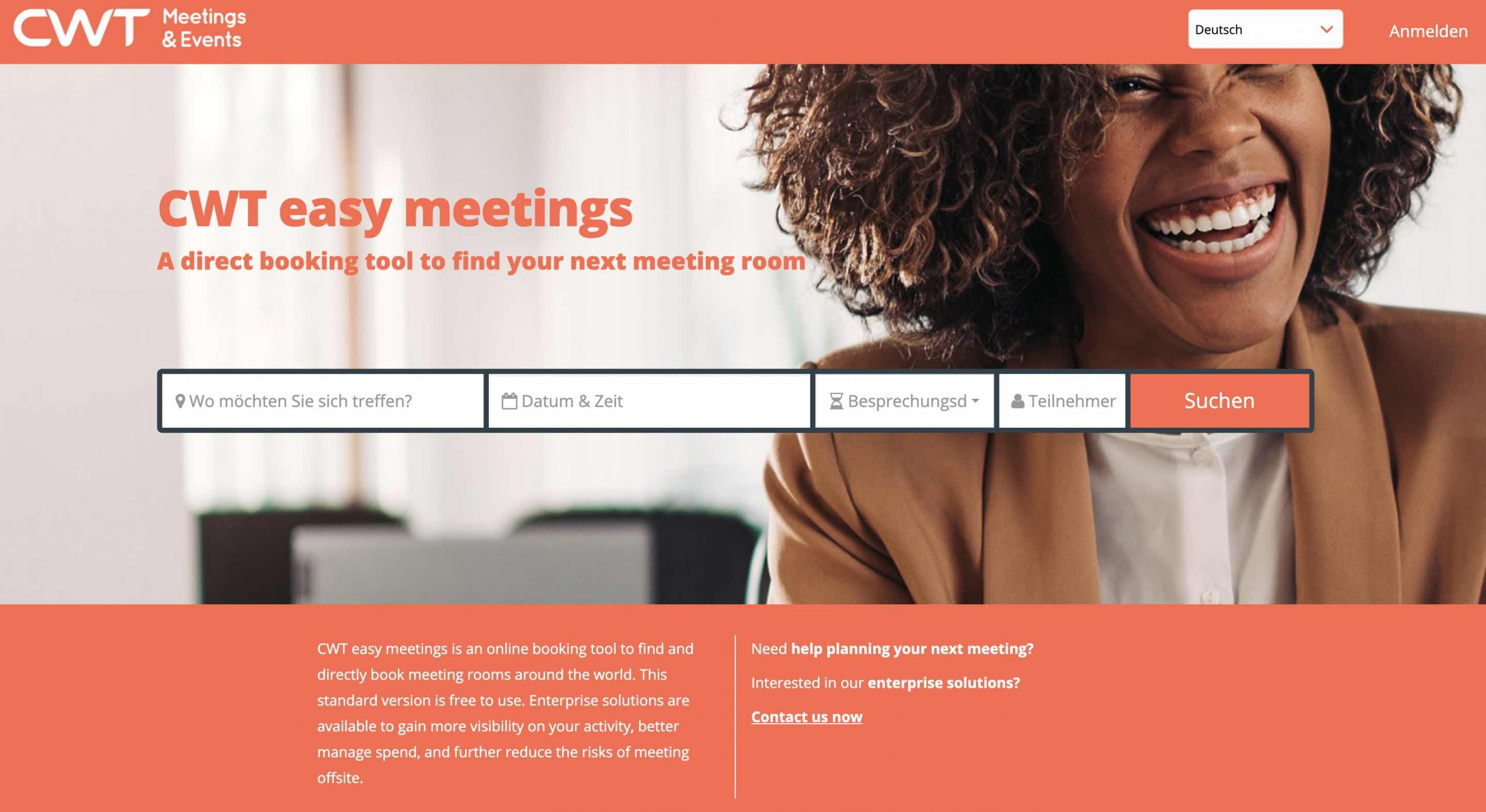 CWT easy meetings launched
