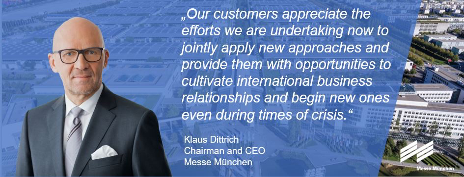 Messe München offering new hybrid platforms