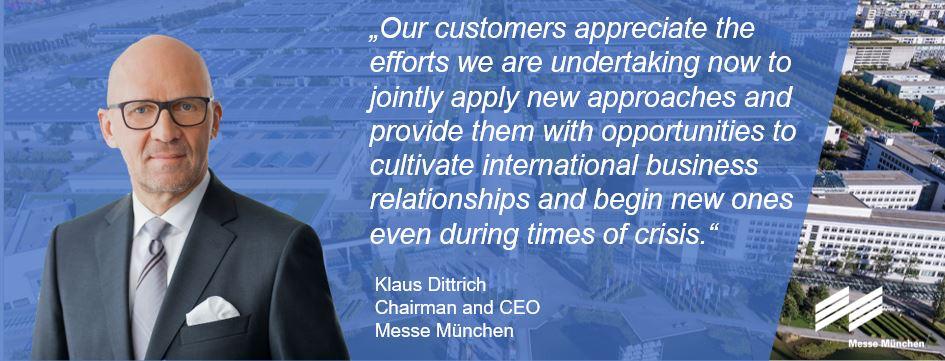 Messe München offering new hybrid platforms