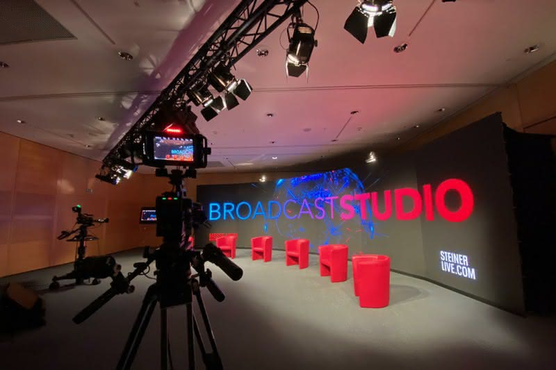 Streaming Studio at Messe Wien